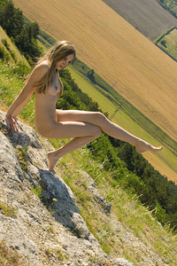 Viveka flaunts her stunning slender body and showcases her delectable assets by outdoors.